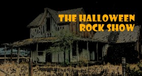 halloween horror rock show banner