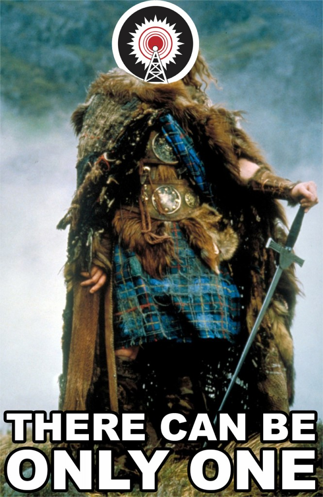 there can be only one highlander wusc